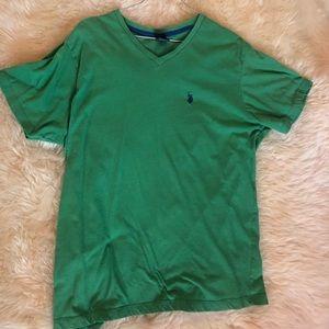V Neck T-shirt - US Polo - Large